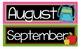 Through the Year Calendar Headers (Black Series)