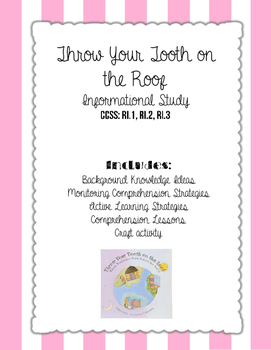 Throw Your Tooth on the Roof Informational Activity Packet