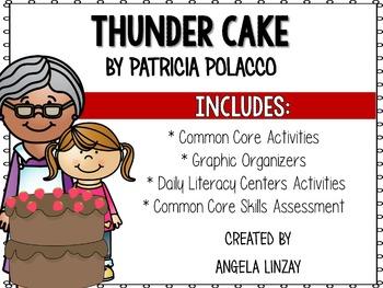 Thunder Cake: Aligning Houghton Mifflin 2nd Grade to Common Core