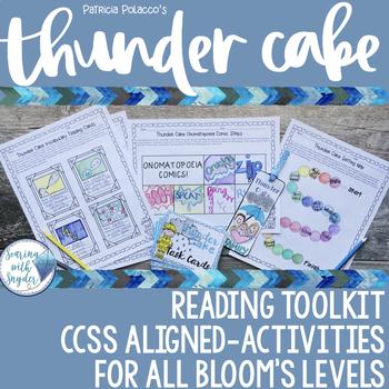 Thunder Cake Reading Comprehension Toolkit