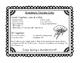Thunder Cake Task Cards                          ( Patrici