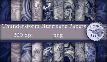 Thunderstorm Hurricane Papers