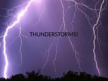 Thunderstorms PowerPoint presentation