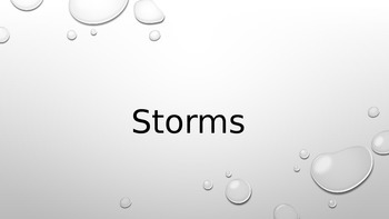 Thunderstorms and Tornadoes