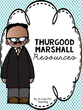 Thurgood Marshall {Black History Month}