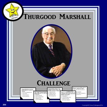 Thurgood Marshall Challenge Game