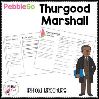 Thurgood Marshall Pebble Go research brochure