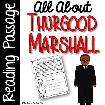 Thurgood Marshall Reading Passage