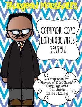 Thurgood Marshall's Language Review {Common Core Language