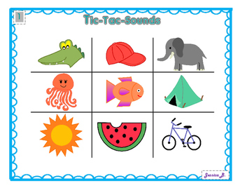 Tic-Tac-Sounds: A letter and sound Identification game