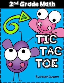 Tic Tac Toe {2nd Grade Math}