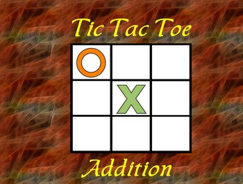 Interactive Flipchart Tic Tac Toe Addition Plus 16 through