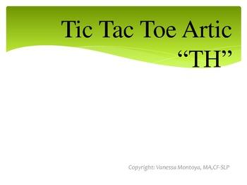 """Tic Tac Toe Artic- """"Th"""" Edition"""