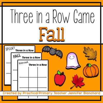 Show What You Know Tic Tac Toe (Fall, Halloween, Harvest)