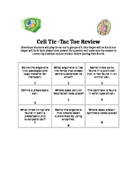 Tic-Tac Toe Cell Review