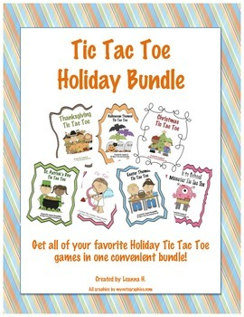 Tic Tac Toe - Holiday Bundle