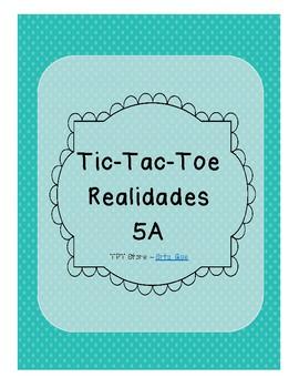 Tic Tac Toe (Realidades 5A)