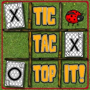 Tic-Tac-Top It! -- A Kindergarten Math Game Mash-up