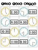 Tick Tock Bingo (Time Bingo)