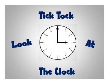 Tick Tock Look At The Clock