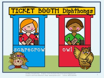 "Ticket Booth Diphthongs - Working with the Sounds of ""ow"""