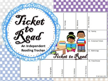 Independent Reading Ticket!