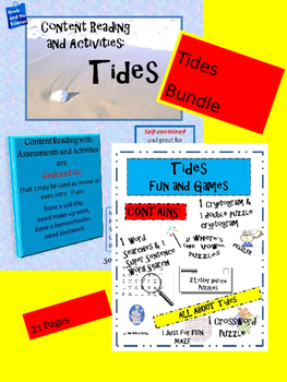 Tides Bundle - Content Reading/ Fun and Games