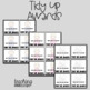 Tidy Up King & Queen Awards/Brag Tags