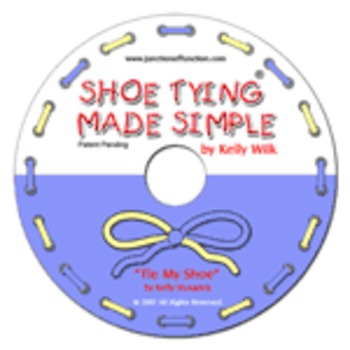 Tie My Shoe Teaching Song