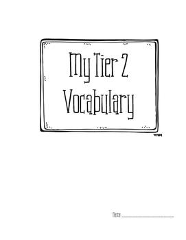 Tier 2 Vocab Journal