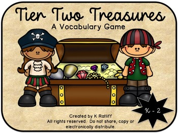 Tier Two Treasures:  A Vocabulary Game
