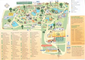 Tierpark: German Zoo Plan and Tickets