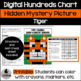 Tiger Hundreds and 120 Chart Hidden Picture Activity for M