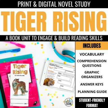 Tiger Rising Foldable Novel Study Unit