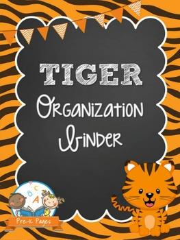 Tiger Student Organization and Parent Communication Binder