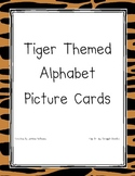 Tiger Themed Alphabet Cards