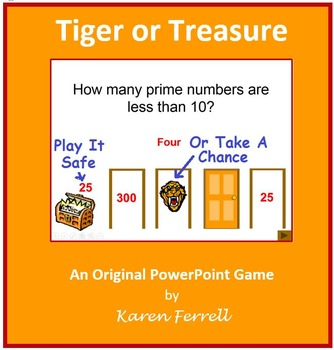 Tiger or Treasure (PowerPoint Game)