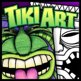 Tiki Art - Templates, Lesson Plans, and Coloring Sheets