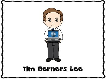 Tim Berners Lee (Inventor Graphic Organizers)