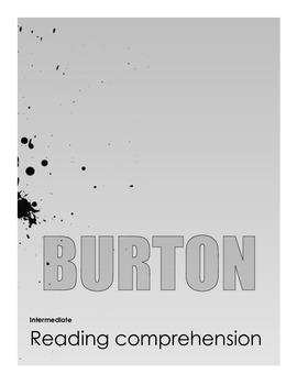 Tim Burton Reading Comprehension