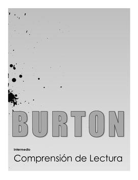 Tim Burton Reading Comprehension (Version en Español)