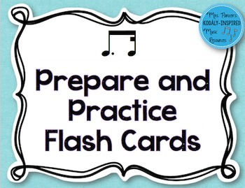 Tim-Ka Prepare and Practice Flash Cards