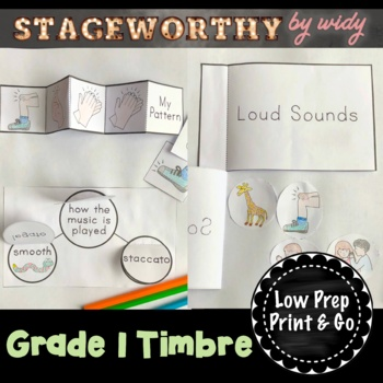 Timbre & Articulation (Instruments) Music Interactive Note