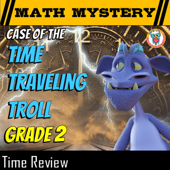 Time Math Mystery: Telling Time and Time Patterns