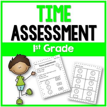 Time Assessment 1st Grade