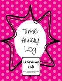 Time Away Log
