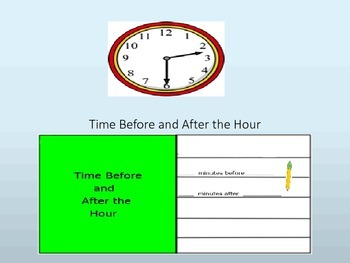 Time Before and After the Hour Lesson