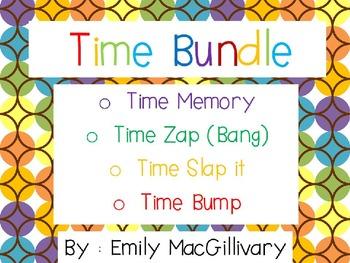 Time Bundle: Includes 4 Games (Memory, Slap it, Zap or Ban