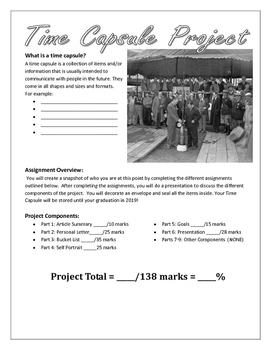 Time Capsule Project: An Introduction Project for Building