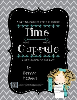 Time Capsule Writing Kit - A beginning of the year project